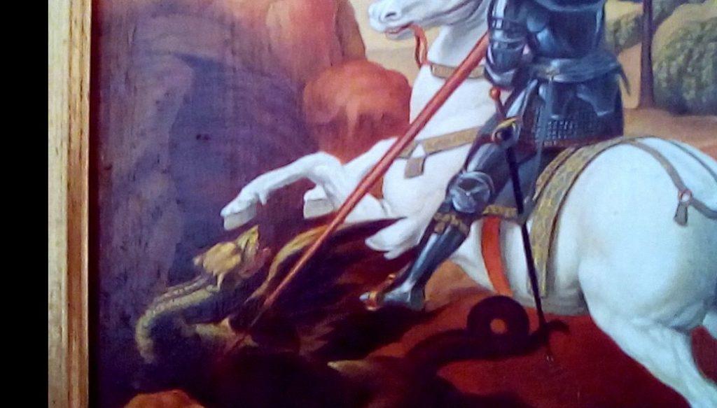 san giorgio ed il drago raffaello